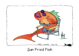Sun Fried Fish card front